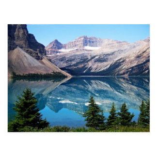 Bow Lake, Banff National Park, Canada Postcard
