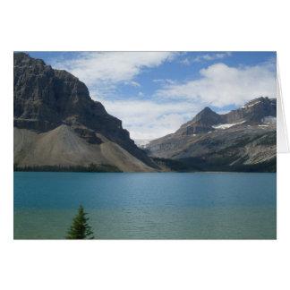 Bow Lake Greeting Card