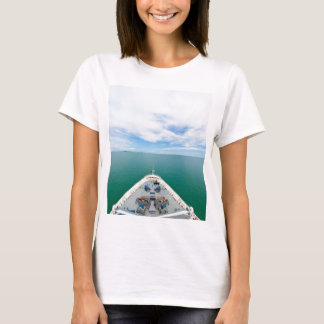 Bow of a cruise ship T-Shirt