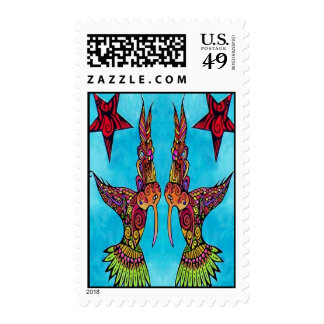 Bow of Thanks Postage Stamps