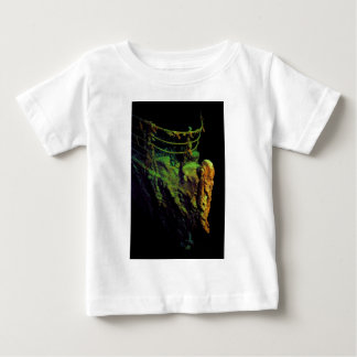 Bow of the Titanic as Seen From MIR I Submersible Baby T-Shirt