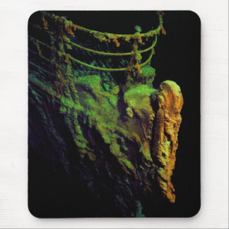 Bow of the Titanic as Seen From MIR I Submersible Mouse Pad