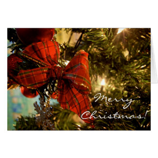 Bow on the Tree [Christmas Card] Greeting Card