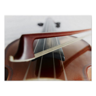 Bow on Violin Poster