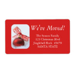 "Bow ornament address label<br><div class=""desc"">After all the work and stress, tell them you have a new address! There is no better ( and easier!) way to spread the news than adding this label to your Christmas post. There are many different cards available, so pick the design and wording you like. Browse the store or...</div>"