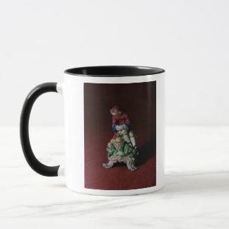 Bow porcelain figure of Winter, c.1760-63 Mug