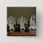Bow porcelain figures, 1761 pinback button