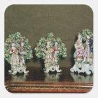 Bow porcelain figures, 1761 square sticker