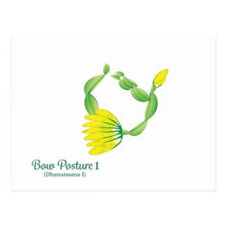 (Bow Posture I) Postcard