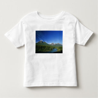 Bow River near Banff National Park in Alberta Toddler T-shirt