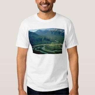 Bow River, Trans Canada Highway, Exshaw, Alberta, T Shirts