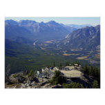 BOW RIVER VALLEY - BANFF POSTERS