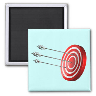 Bow target magnet