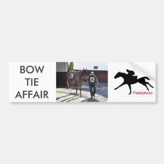 Bow Tie Affair Bumper Sticker