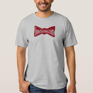 Bow Tie Law Fan Shirt