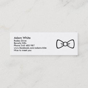 Bow Tie Mini Business Card