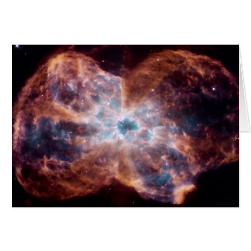 Bow Tie Nebula Greeting Card