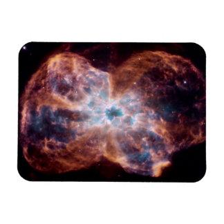 Bow Tie Nebula Rectangular Magnet