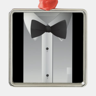 Bow tie ornaments