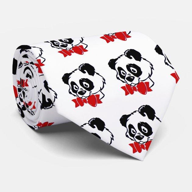 bow tie panda zazzle
