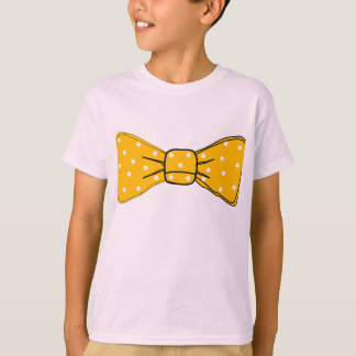 bow tie polka dots girly friend family T-Shirt