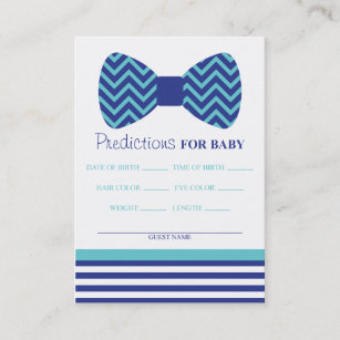 Bow Tie Predictions Card Large Business