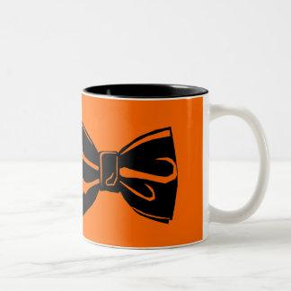 Bow Tie Two-Tone Coffee Mug