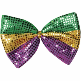 Bow Tie une Paillette Ornament