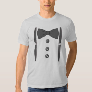 Bow tie with Suspenders T-shirt