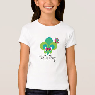 Bow Tied and Butterfly Fleur De Lis T-Shirt