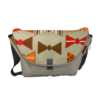 Bow Ties Courier Bag