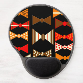 Bow Ties Retro Gel Mouse Pad