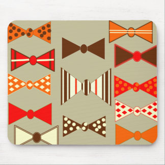 Bow Ties Retro Mouse Pad