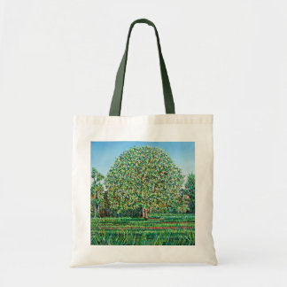 Bow Tree Spring Tote Bag