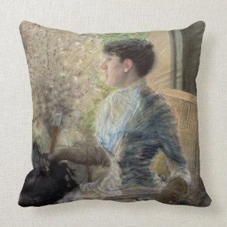 Bow Window, 1883 Throw Pillow