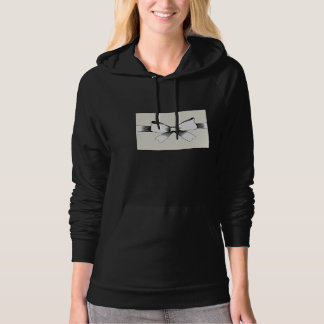 Bow With Ribbon Womens Hoodie
