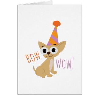 Bow Wow Card
