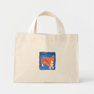 Bow Wow Corgi Bag by Doublefly Design