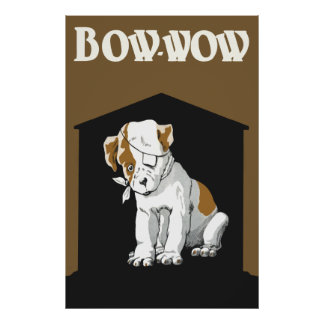 Bow Wow Cute little injured puppy poster