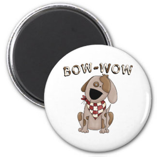 Bow Wow Dog Kids Gift Magnets