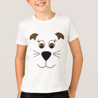 Bow Wow Puppy Face T-Shirt