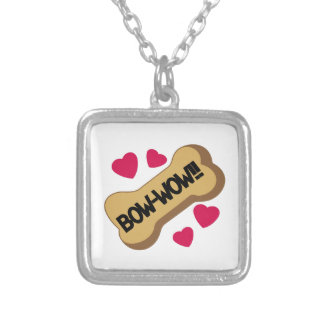 Bow-Wow Silver Plated Necklace