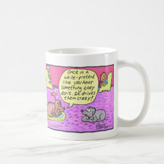 BOW WOWS & MEOWS - Once in a while... Classic White Coffee Mug
