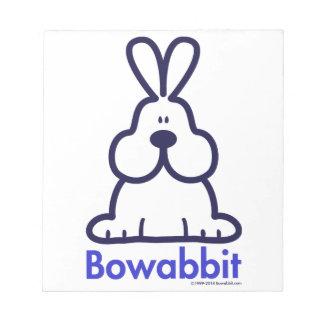 Bowabbit Classic Front Memo Pad