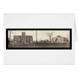 Bowdoin College, Maine Photo 1910 Card