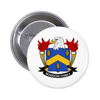 Bowdoin Family Crest Pins