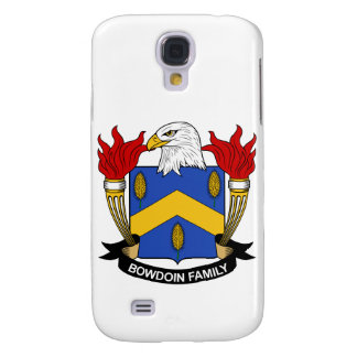 Bowdoin Family Crest Galaxy S4 Cases