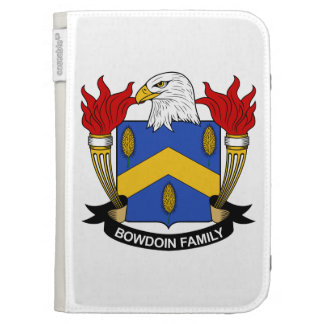 Bowdoin Family Crest Kindle Cases