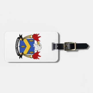 Bowdoin Family Crest Tag For Luggage