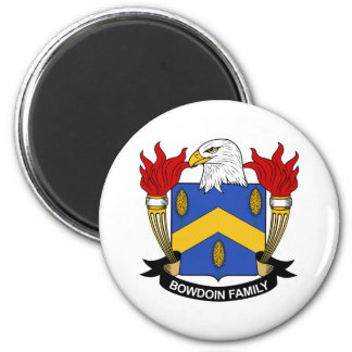 Bowdoin Family Crest Magnets